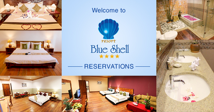 Booking BlueShell Resort